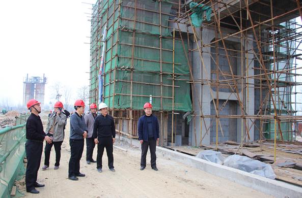 淮北市水务局局长徐涛调研督查濉溪县水利重点工程建设情况