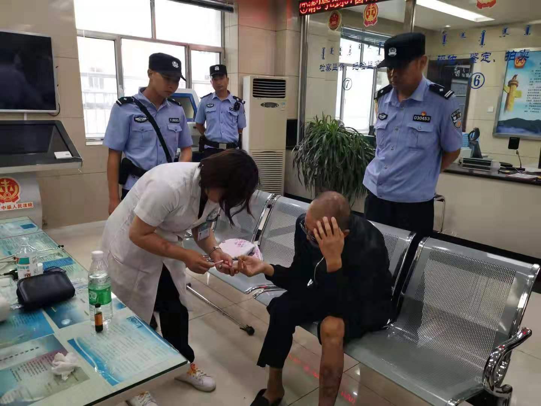 内蒙古乌海市中级人民法院为患病信访人员提供体检服务